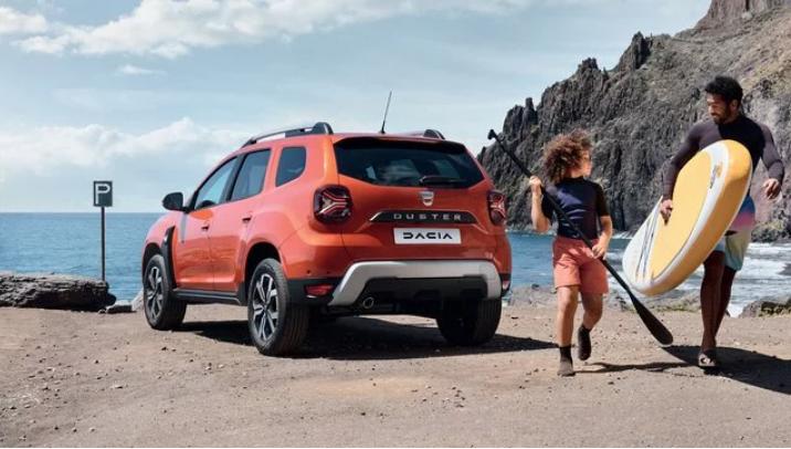 nouveau Dacia Duster plage