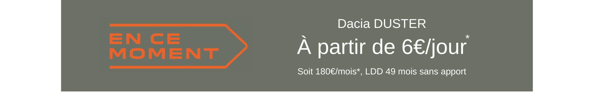 PRIX DACIA DUSTER